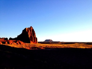 Sunrise in Cathedral Valley, Capitol Reef National Park