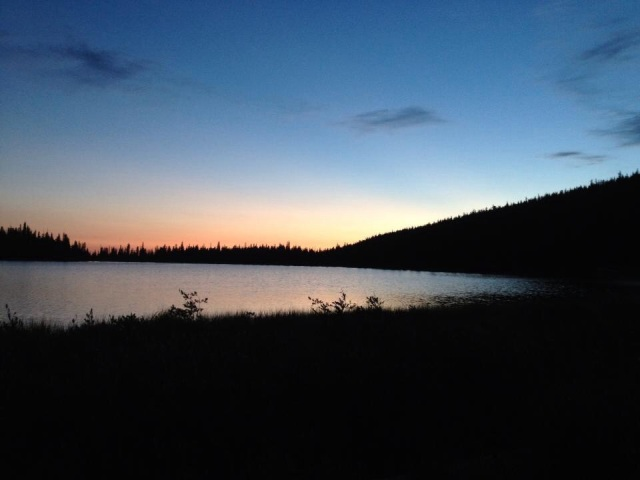 Sunrise at Spirit Lake, Ashley National Forest. Soul renewal at its best.